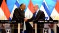 Sameh Choukry  Egitto - Benjamin Natanyahu Israele