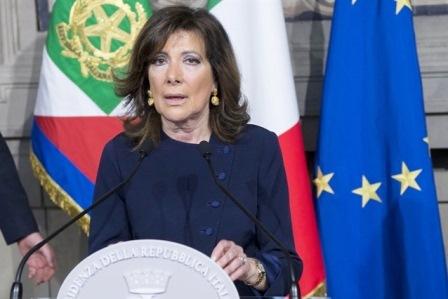 Mattarella affida un mandato esplorativo a Casellati