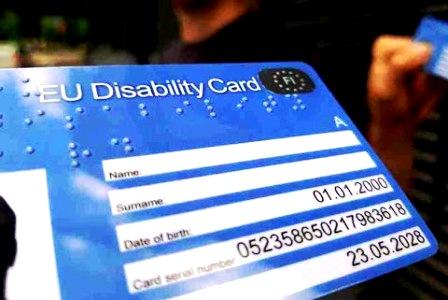 Carta Europea della Disabilità